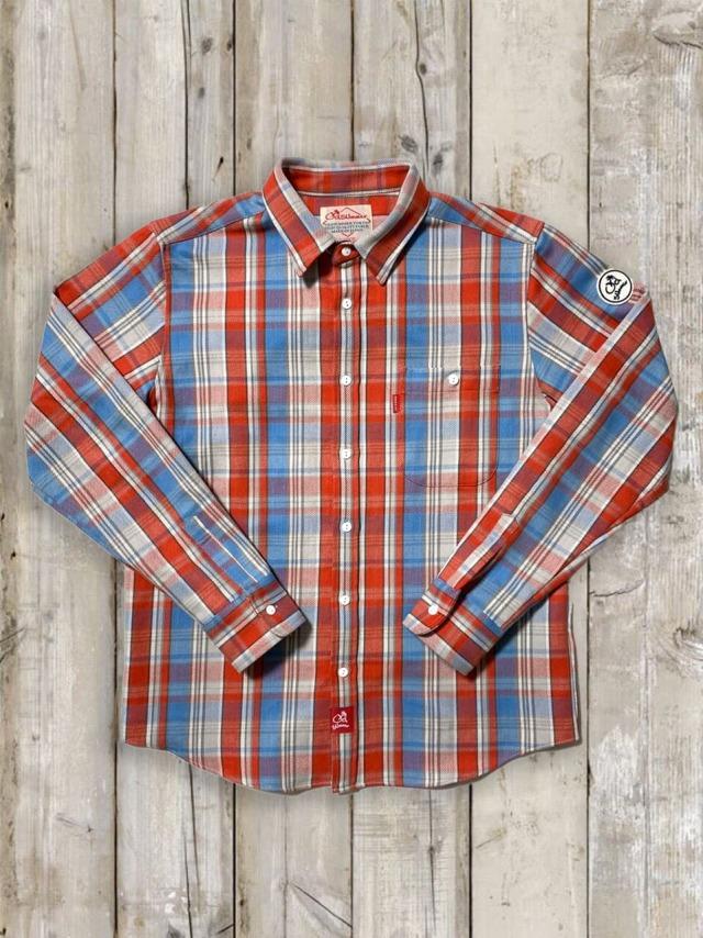 ヘビーネルチェックシャツ