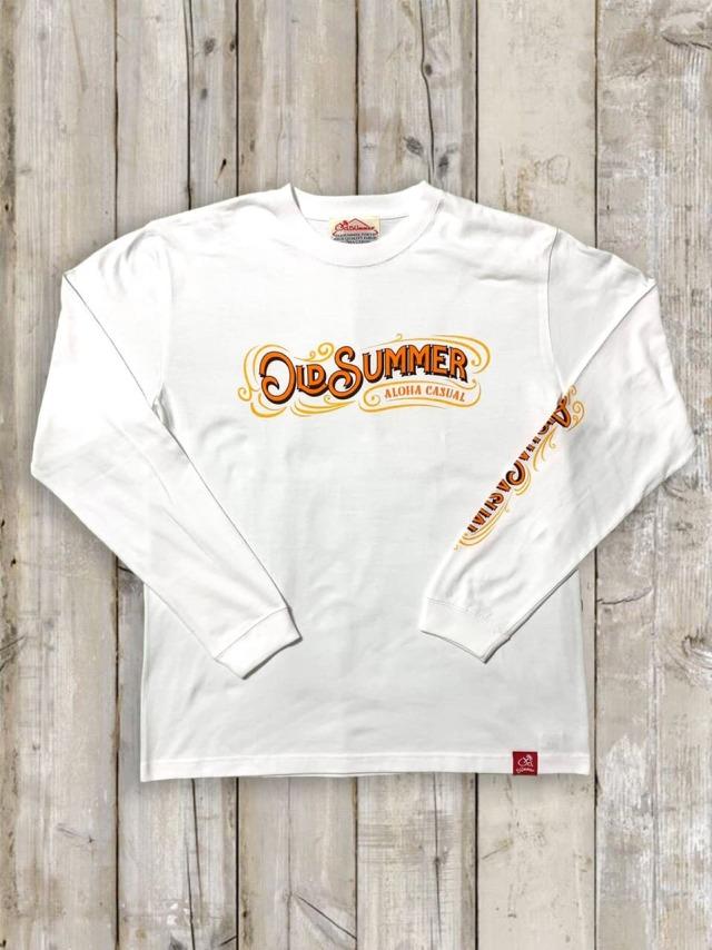 クルーネックロングスリーブTシャツ(クラシックロゴ)