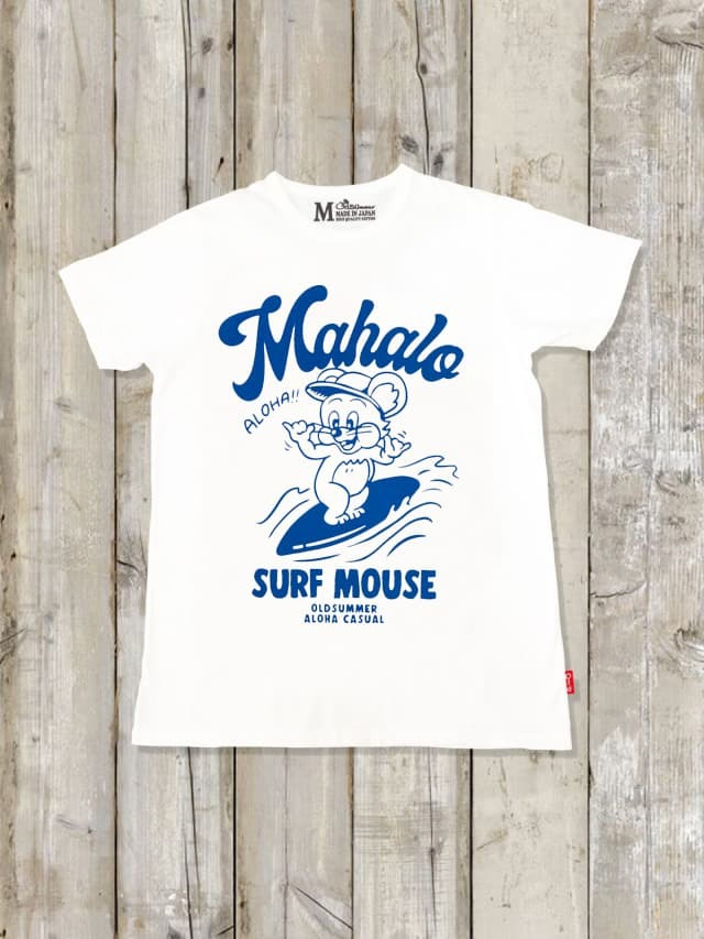 クルーネックTシャツ(SURF MOUSE)