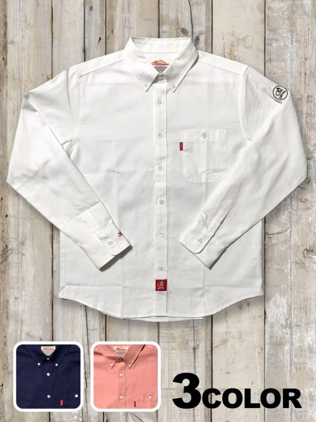 ボタンダウンシャツ(袖刺繍)