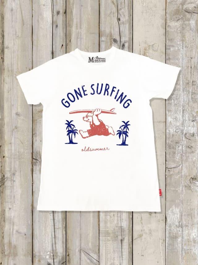 クルーネックTシャツ(GONE SURFING)