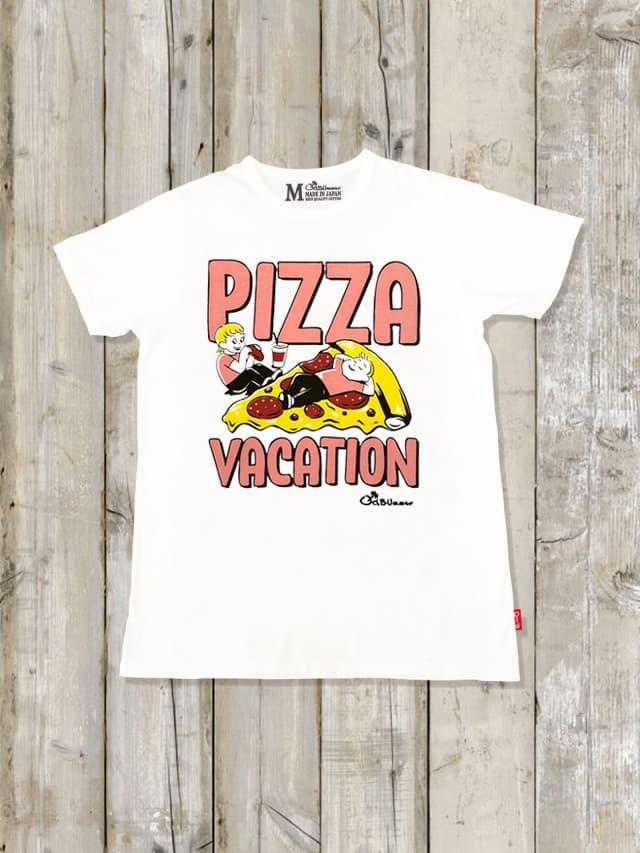 クルーネックTシャツ(PIZZA VACATION)