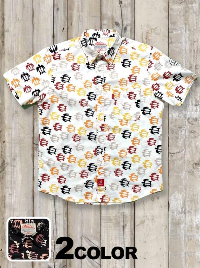 半袖アロカジシャツ(ウミガメ)