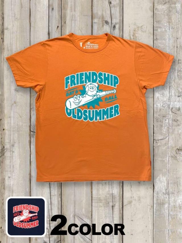 クルーネックTシャツ(FRIEND SHIP)