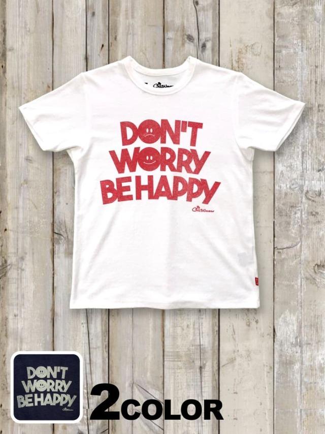 パイル(タオル)Tシャツ(DON'T WORRY BE HAPPY)