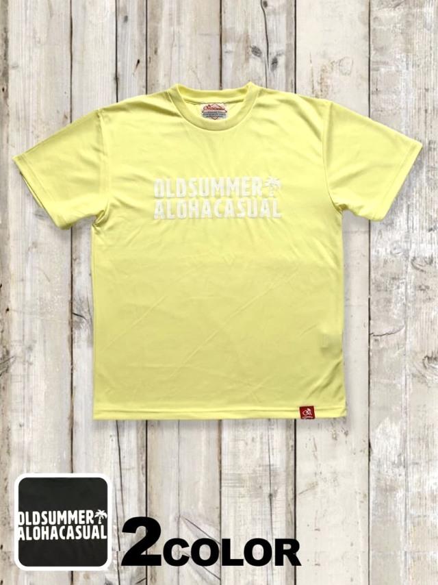 ドライメッシュTシャツ(ALOHA CASUAL)