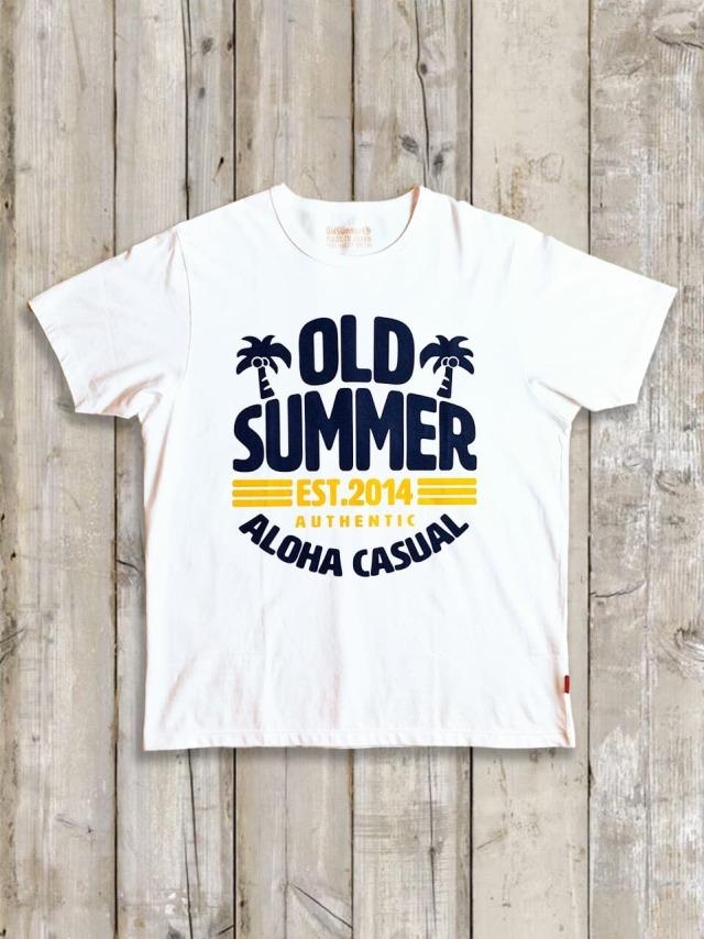 クルーネックTシャツ(ALOHA CASUAL)