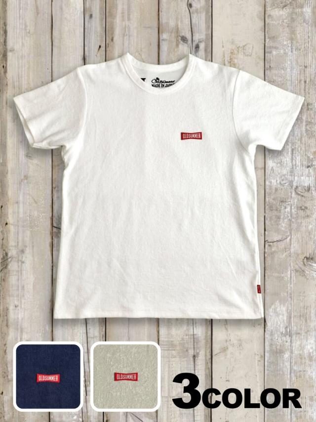 パイル(タオル)Tシャツ(RIBBON LOGO)