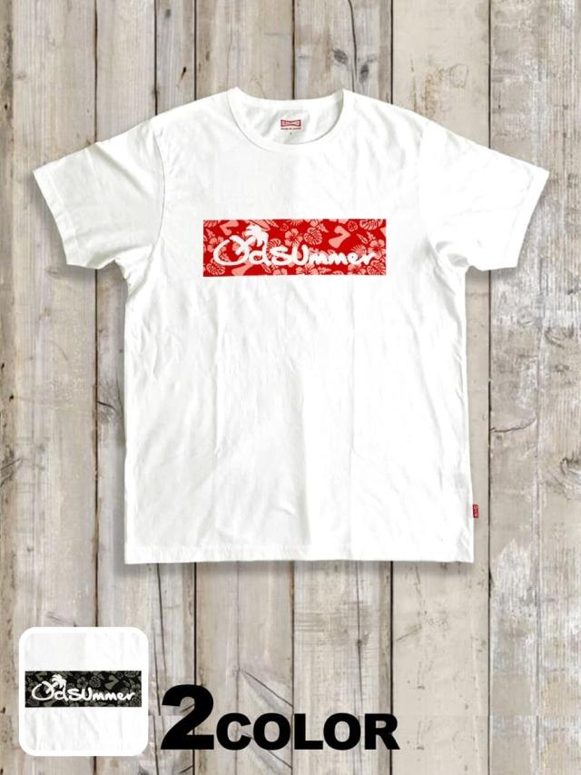 クルーネックTシャツ(7周年記念BOX LOGO)