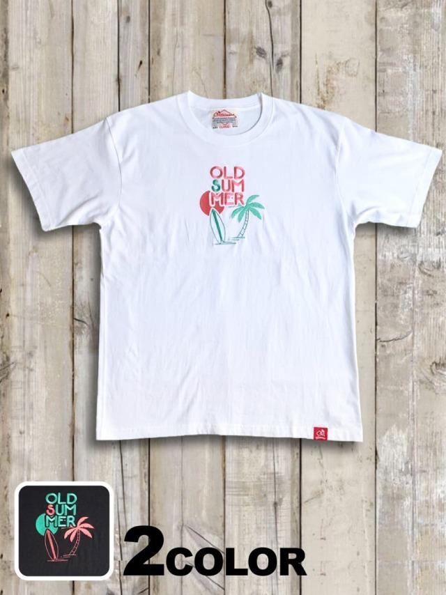 BIGシルエットTシャツ(OLDSUMMER BEACH刺繍)