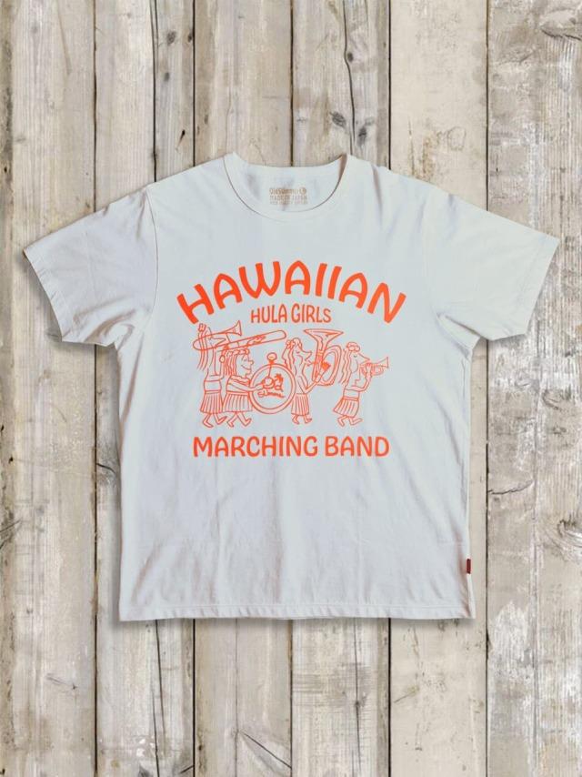 クルーネックTシャツ(HULA MARCHING BAND)