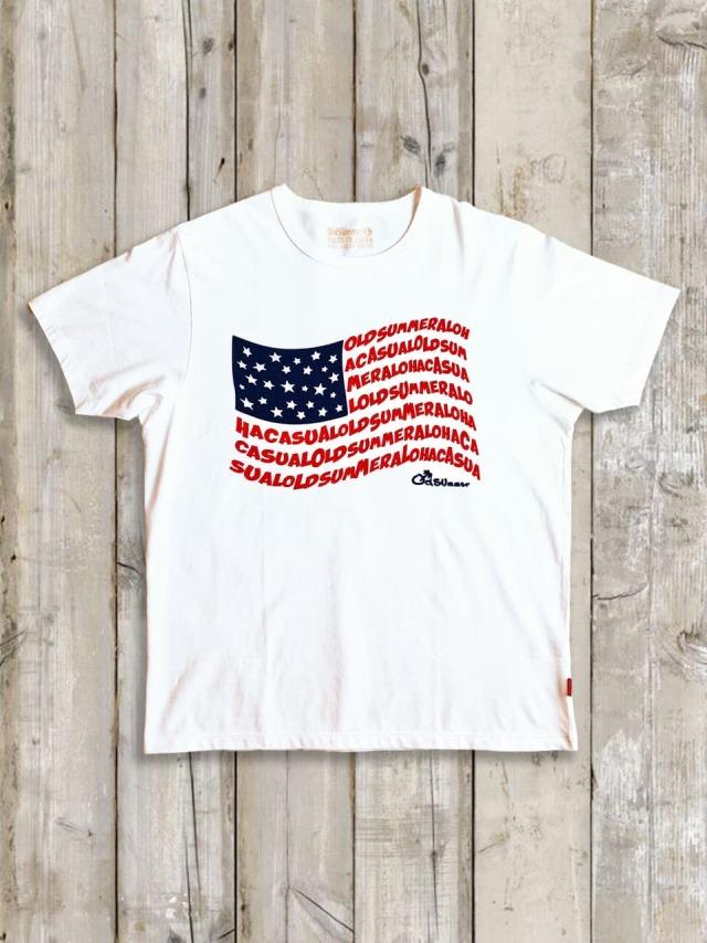 クルーネックTシャツ(OldSUmmer FLAG)
