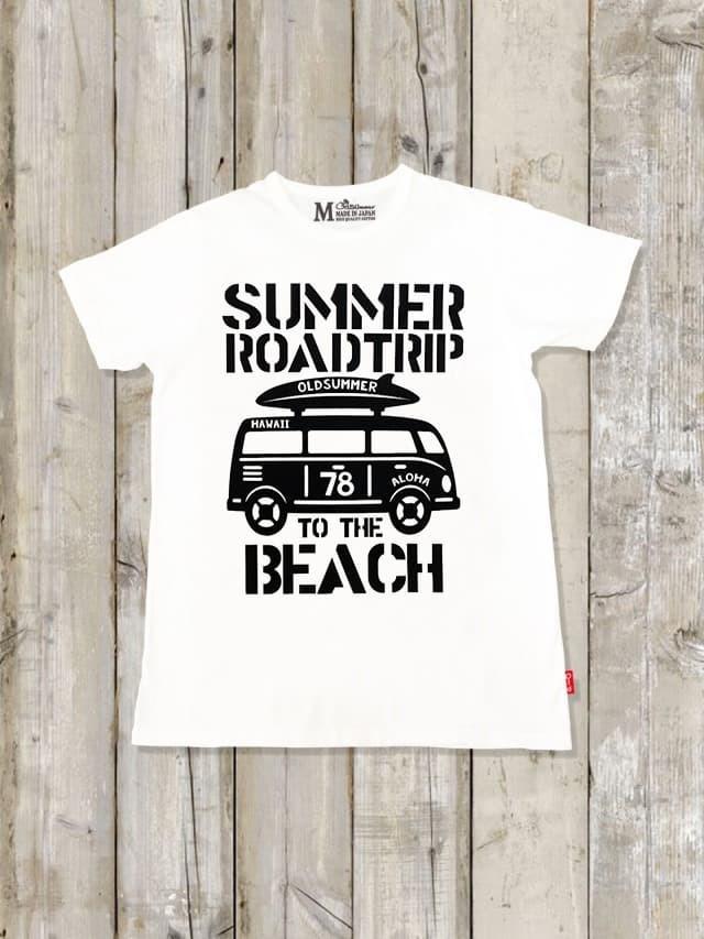 クルーネックTシャツ(SUMMER ROADTRIP)