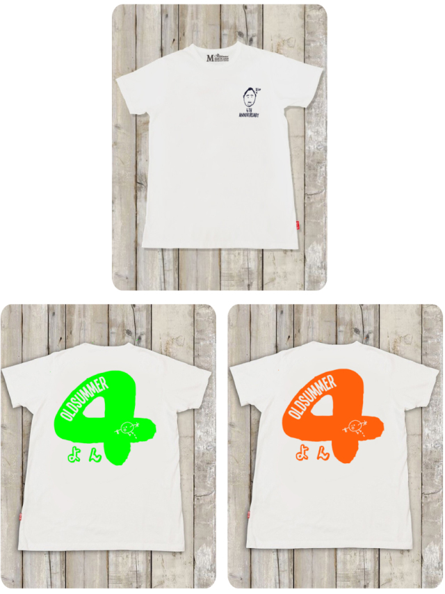 (数量限定)4周年記念限定Tシャツ