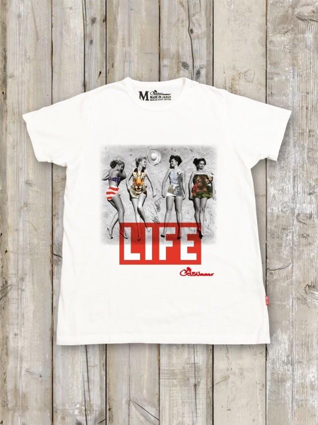 LIFE コラボTシャツ(ビーチ)