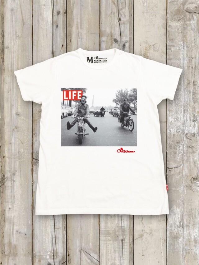 LIFE コラボTシャツ(ロード)