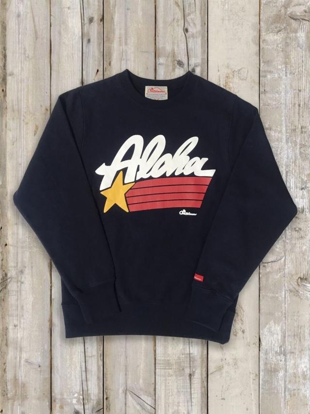 トレーナー(ALOHA STAR/紺)