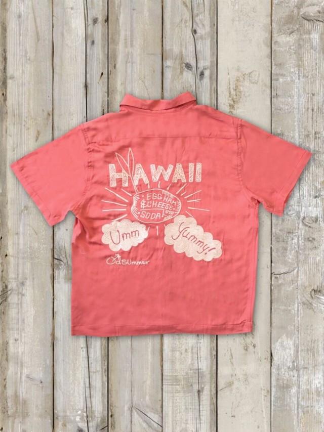 ボーリングシャツ(HAWAII/ピンク)