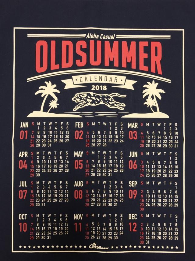2018年 オリジナルカレンダー