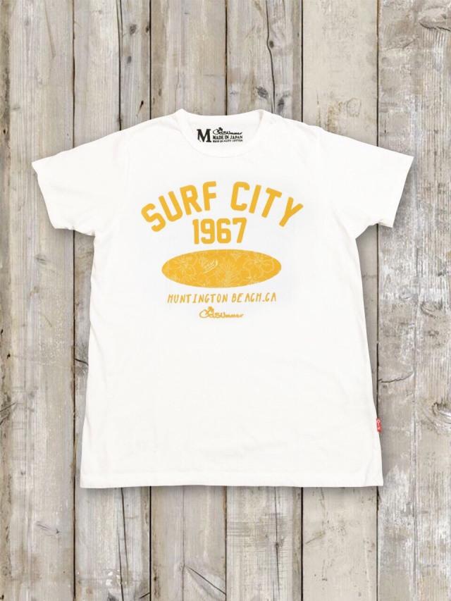 クルーネックTシャツ(SURF CITY)