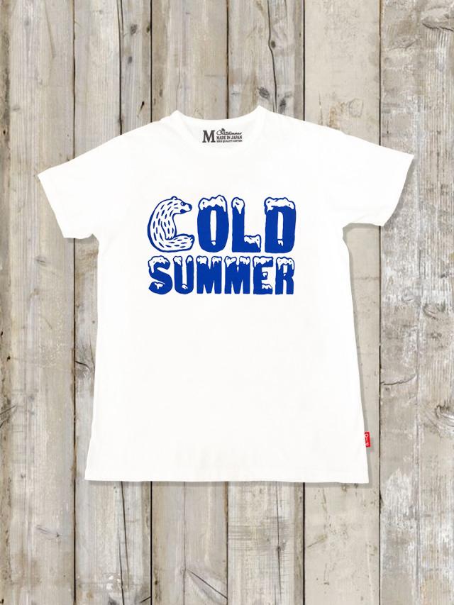 クルーネックTシャツ(COLD SUMMER)