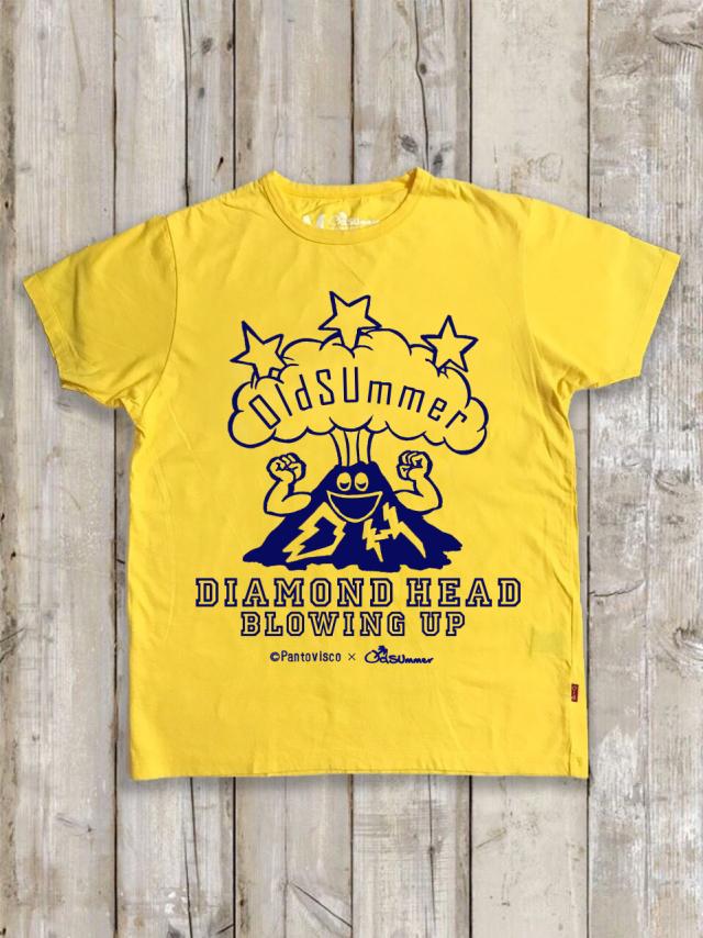 クルーネックTシャツ(DIAMONDHEAD BLOWINGUP)