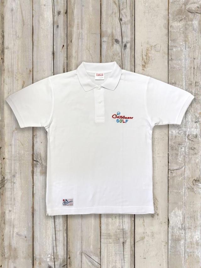 オールドサマーゴルフポロシャツ(白)