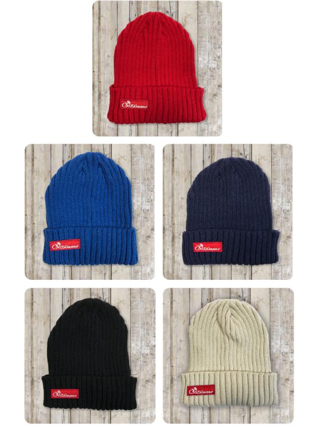 オールドサマーニット帽(BOX LOGO)