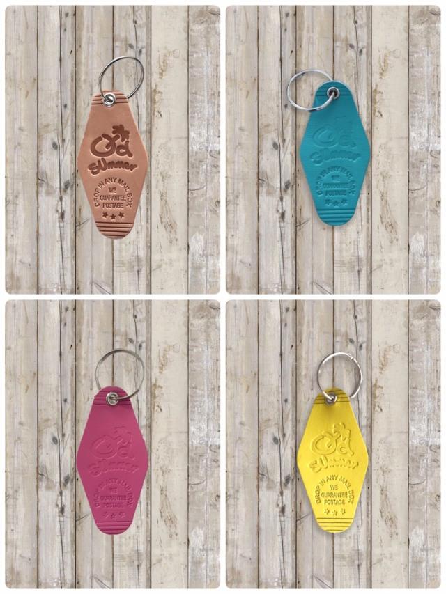 Leather Key Tag(レザーキータグ)