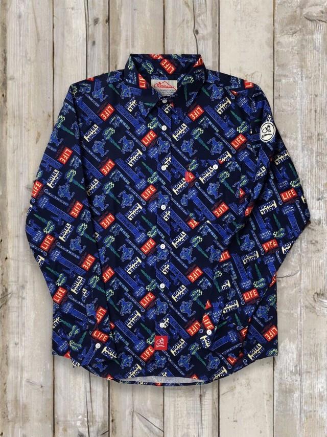 LIFEシャツ(ブルー)