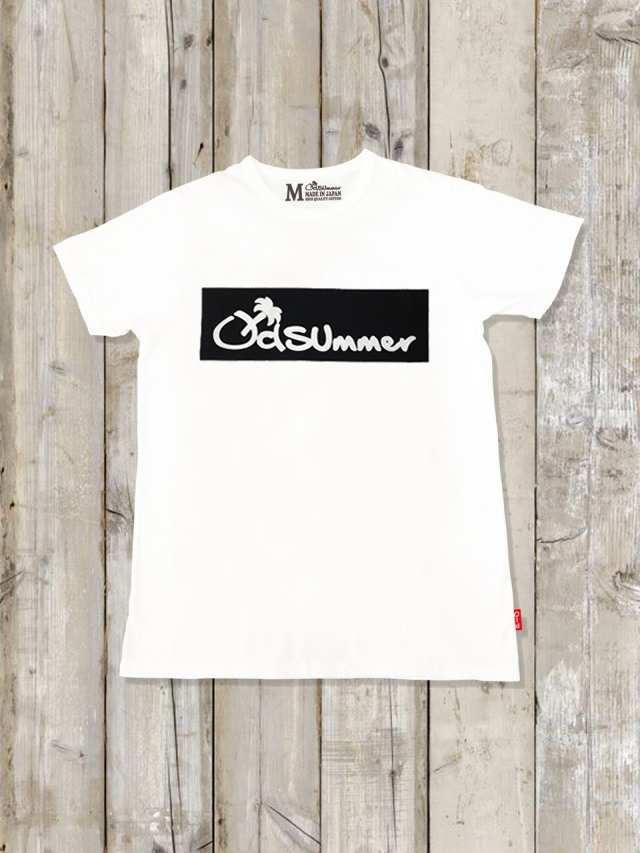 クルーネックTシャツ(LOGO/BLACK)