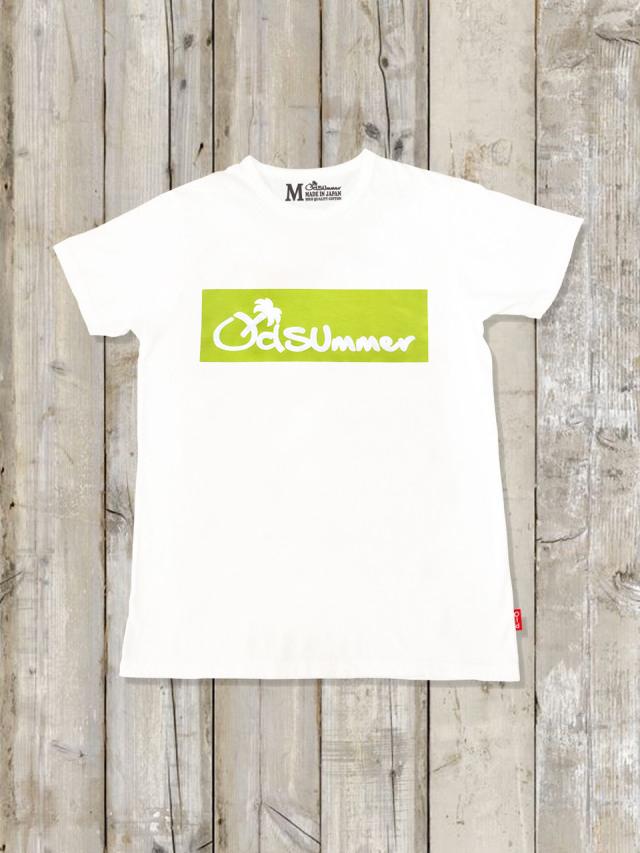 クルーネックTシャツ(LOGO/YELLOW GREEN)