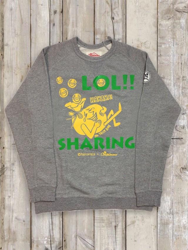 トレーナー(LOL!!SHARING/グレー)