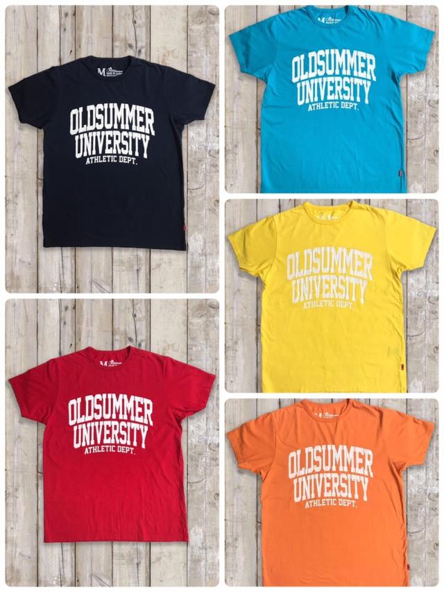 クルーネックTシャツ(OLDSUMMER UNIVERSITY)