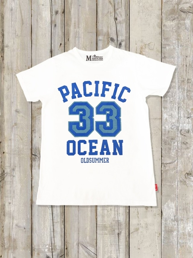 クルーネックTシャツ(PACIFIC OCEAN)