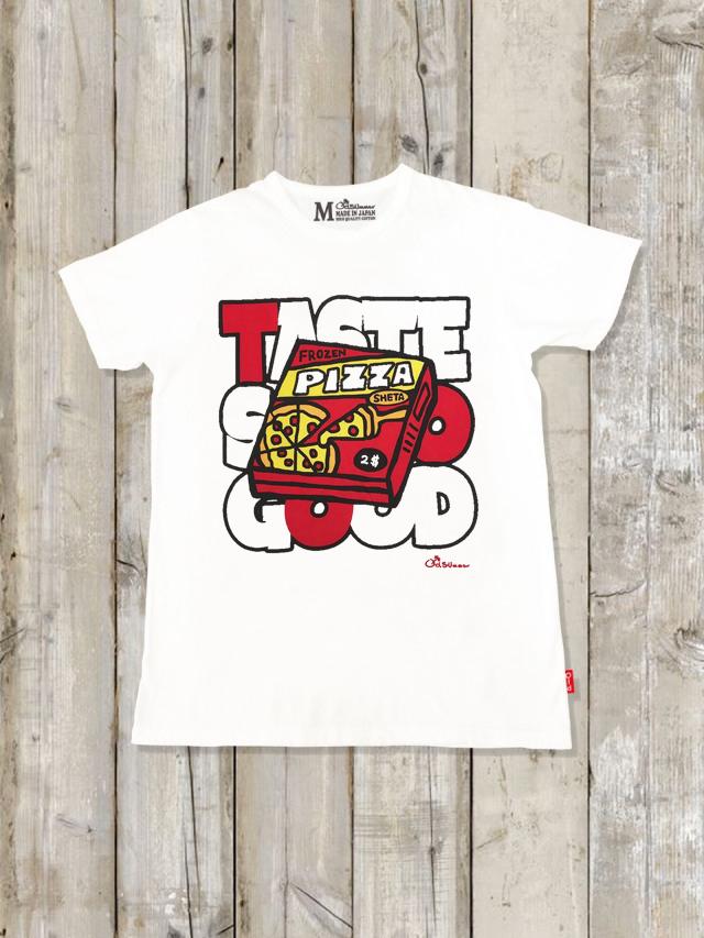 クルーネックTシャツ(PIZZA)
