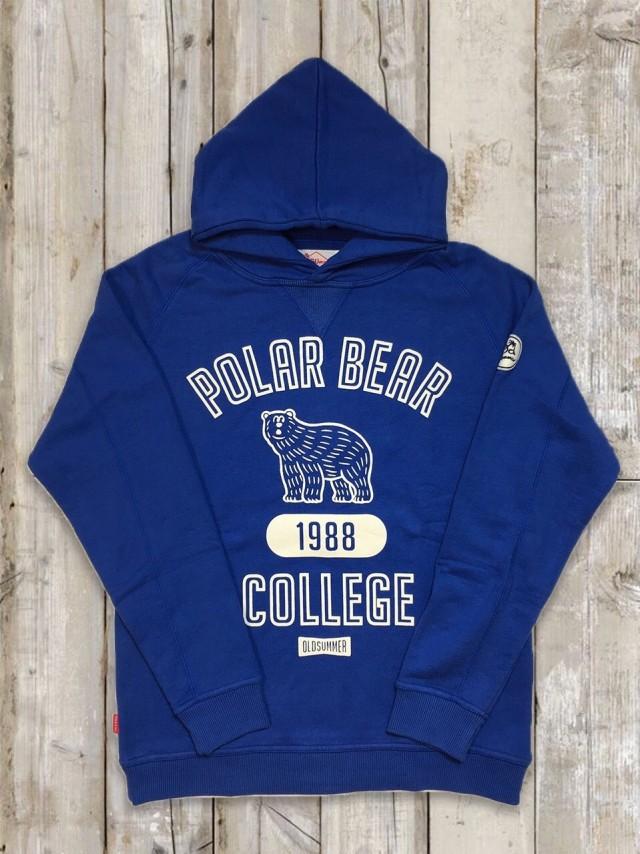 パーカー(POLAR BEAR/青)