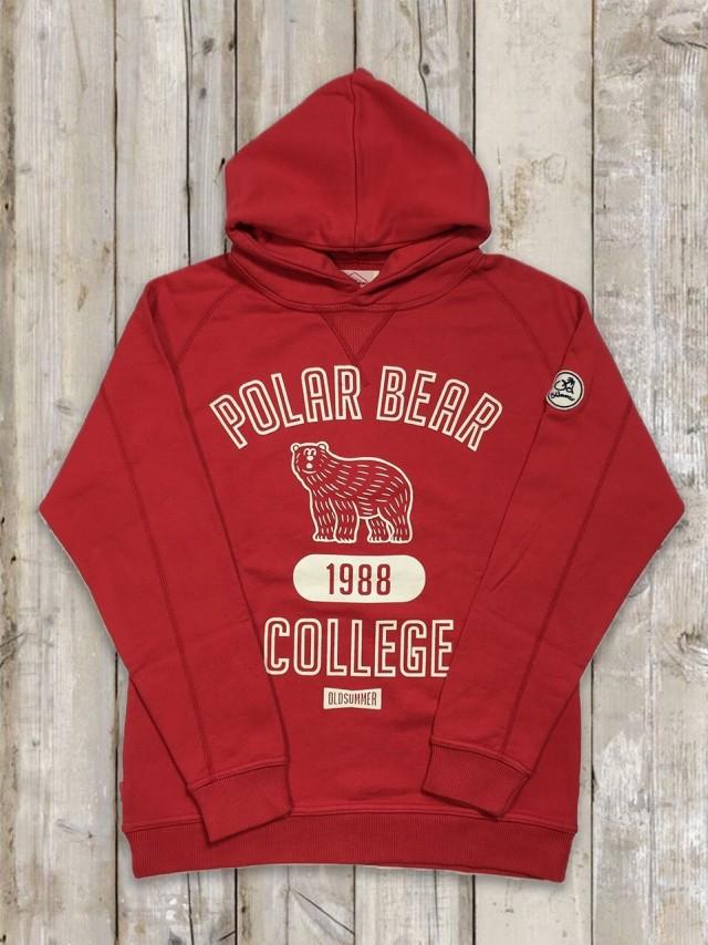 パーカー(POLAR BEAR/赤)