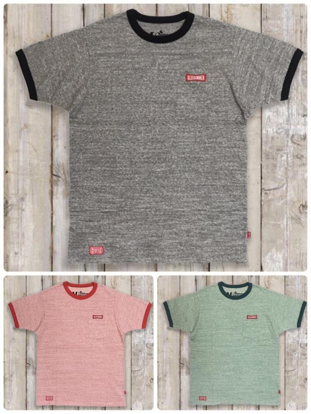 リンガーポケットTシャツ