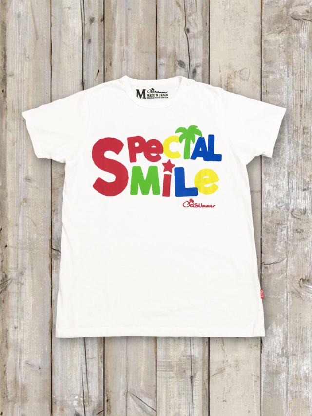 クルーネックTシャツ(SPECIAL SMILE)