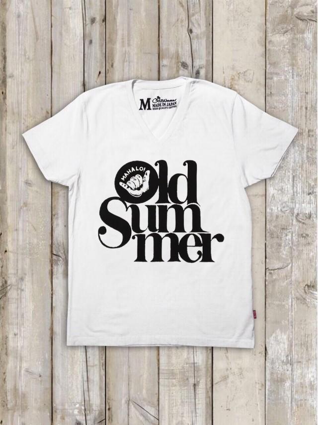 VネックTシャツ(Old SUmmer)