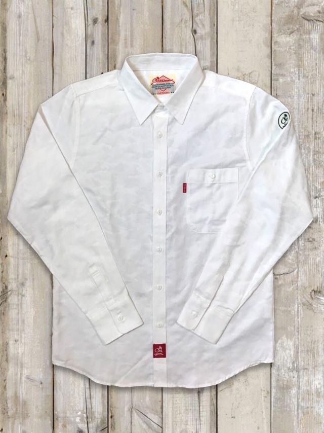 白シャツ(迷彩)