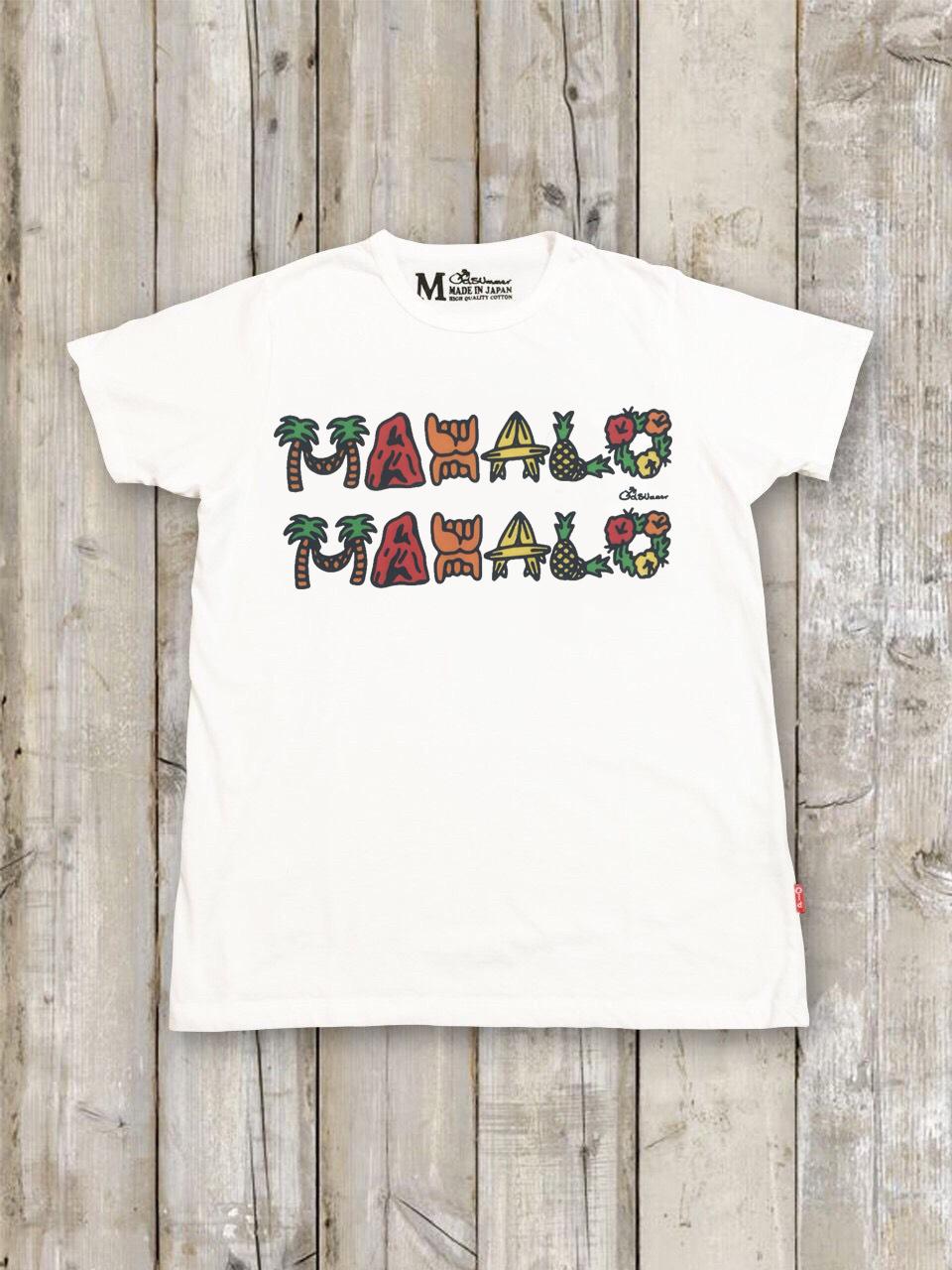 クルーネックTシャツ(MAHALO MAHALO)