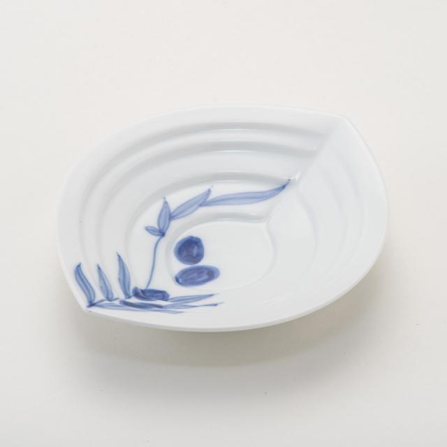 オリーブオイル皿 オリーブ柄