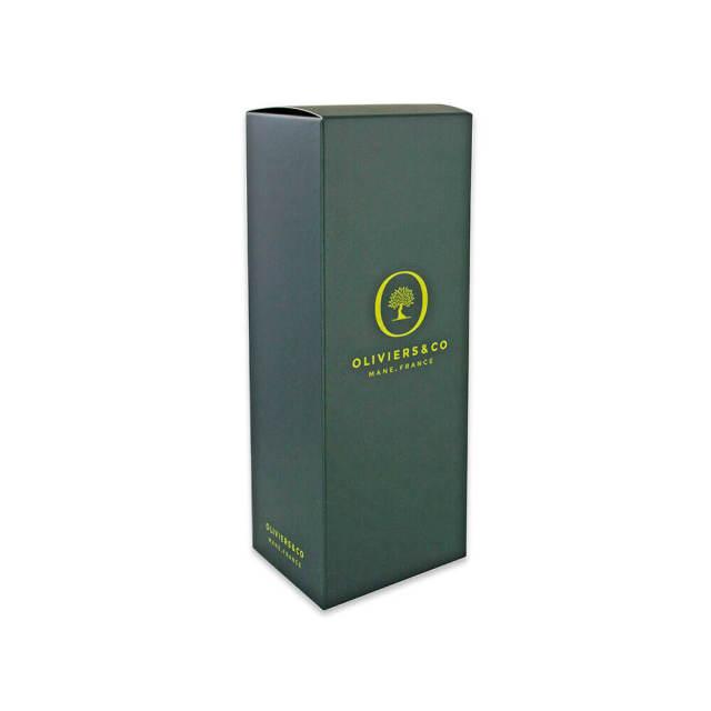 【箱のみ】ギフトボックス(緑) オリーブオイル500ml用