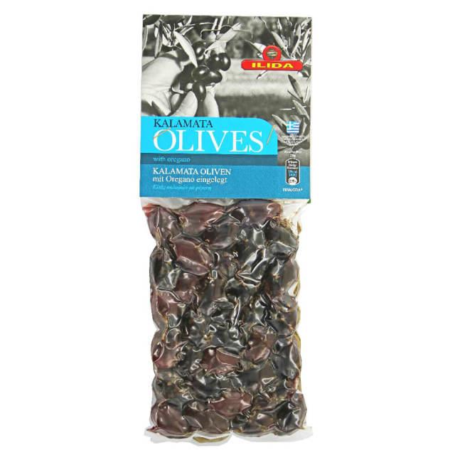 ブラックオリーブ(ギリシャ産カラマタ種)オレガノ