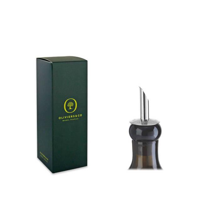 250ml用ギフトボックス(緑)&専用ステンレス製注ぎ口セット