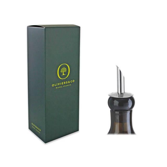500ml用ギフトボックス(緑)&専用ステンレス製注ぎ口セット