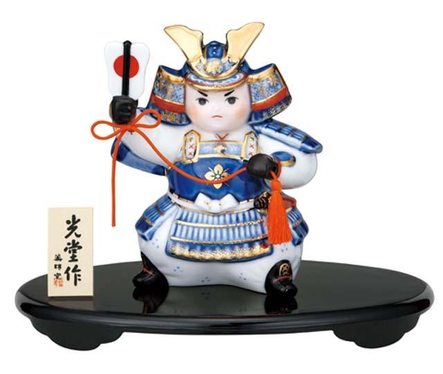 英語説明書付き- 5月人形・出世大将★日本土産(みやげ)に!