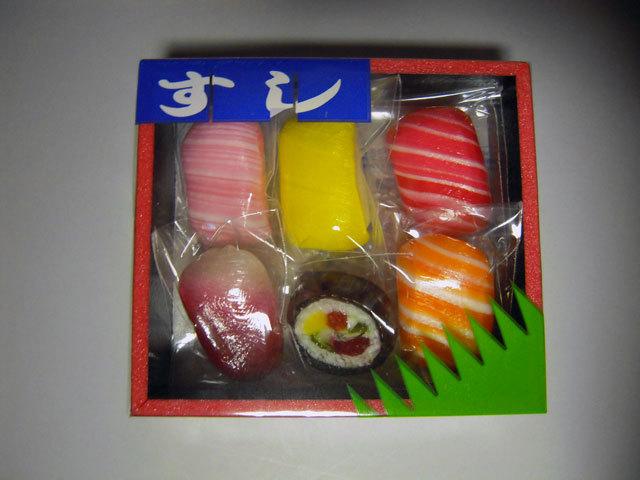 寿司キャンディ